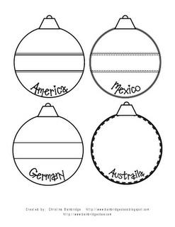 Christmas traditions tree for Christmas Around the World