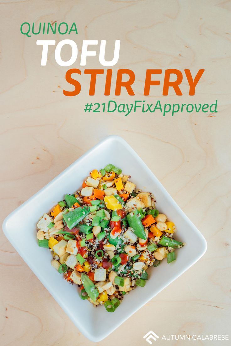 , Vegan, Quinoa Tofu Stir Fry, Vegan, Vegetarian   recipes: stir fry ...