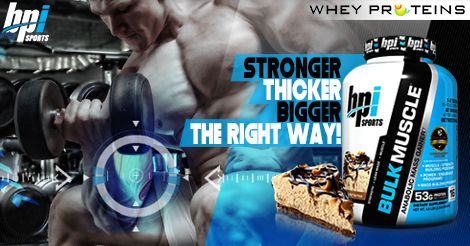 Bpi Sports Bulk Muscle is the Best Muscle Gainer Supplement.