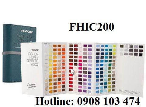 Pantone FASHION, HOME + INTERIORS Colors Cotton Passport FHIC200 Gồm 2310 màu - Hàng Hóa - Thiết Bị Thí Nghiệm