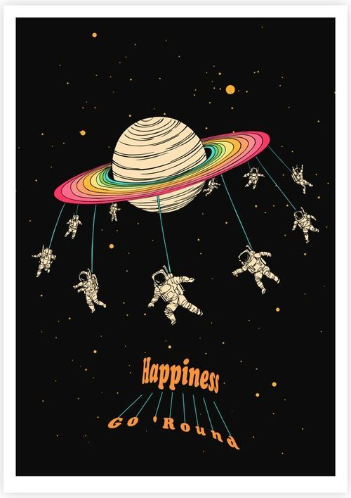 Astronaut Illustration Tumblr - Pics about space