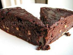 Torta al cioccolato, ricetta per riciclare il pane....fatta piaciuta consistenza tipo pastiera