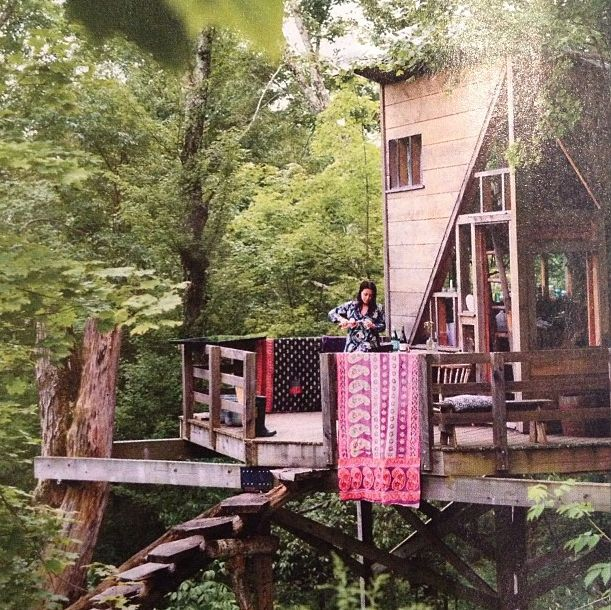 Life in a tree house