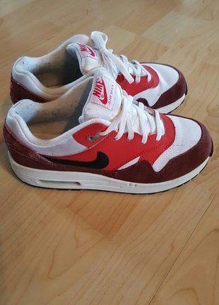 Nike W Air Max 1 Ultra Flyknit Sneakers Damen Schuhe Rot