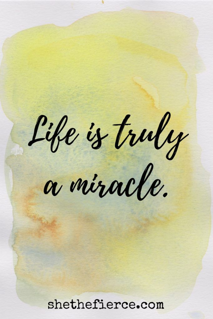 Life Is A Miracle: Experiencing Pregnancy After Loss | After three miscarriages, a miracle is unfolding... here are my thoughts on pregnancy following loss | Miscarriage | Pregnancy Loss | Rainbow Baby | Inspirational Quotes | Miracle Quotes