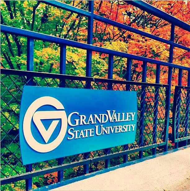 Grand Valley State University! Allendale, Michigan!