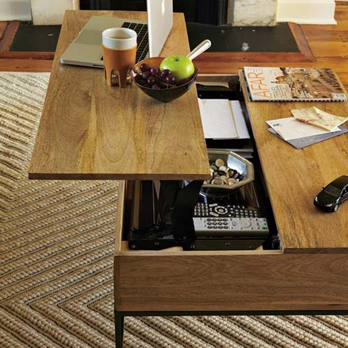 Diy Coffee Table With Hidden Storage Plans: 37 Best Coffee Table Images On Pinterest