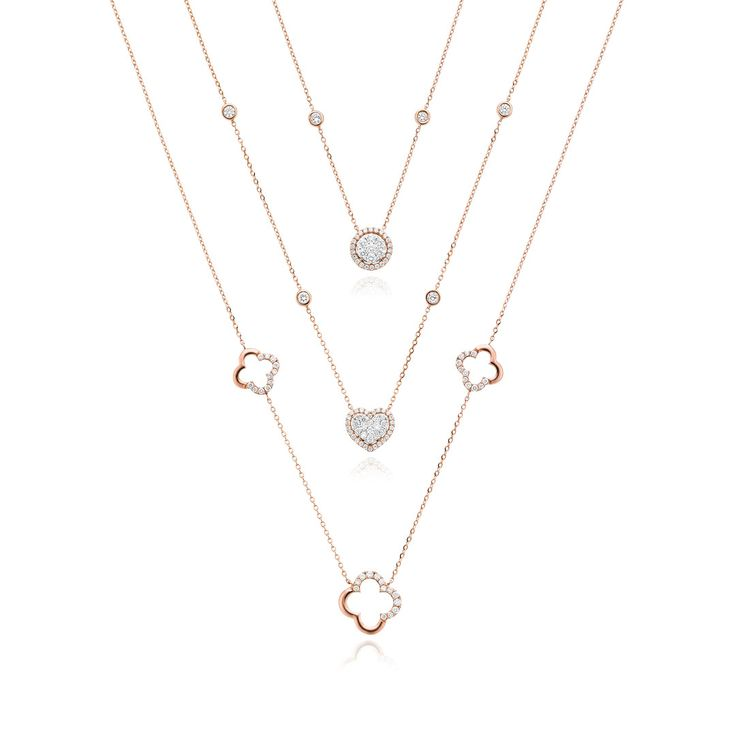 Beautiful Diamond Necklaces that can be layered or worn separately for effortless glamour. Visit us in-store to find out more. #mazzucchellis #jeweller #jewellery #mazzucchellisjeweller #australianjewellery #adelaidejewellery #perthjewellery #canberrajewellery #sydneyjewellery #melbournejewellery #diamond #diamonds #diamondjewellery #diamondnecklaces #layering #necklacelayering #sparkle #style #luxury #giftideas