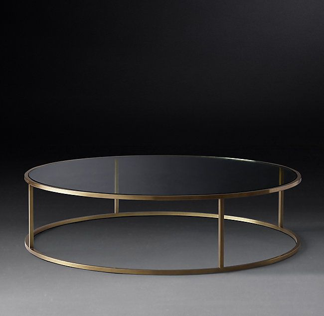 Nicholas Glass Round Coffee Table Round Glass Coffee Table