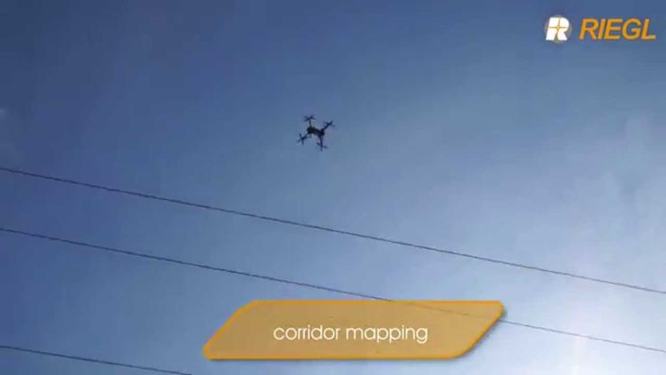 Click the picture to see the video of the fully integrated RiCOPTER UAV in flight!  The RiCOPTER is RIEGL's ready to fly remotely piloted unmanned laser scanning system, which marks the first complete UAS LiDAR solution from one manufacturer.  Message us for video use.