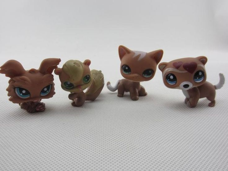 20Pcs/lot Cute Littlest Pet Shop Toys Lot Figures Collection Toy Cat Dog Loose Kids Action Figure Toys For Children
