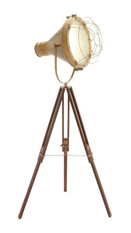 the bright aluminum wood brass studio light spotlight floor lampvintage floor