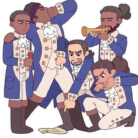 I LOVE THIS (Credit to original creator, taken from @hamiltrash.art ) #Broadway…