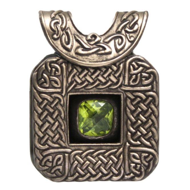 "Wanaree Tanner's BRONZclay ""Celtic Gem Box""  Pendant Project"
