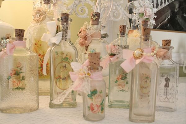 Last month I sold 10 of my altered bottles in my antiques booth at ...