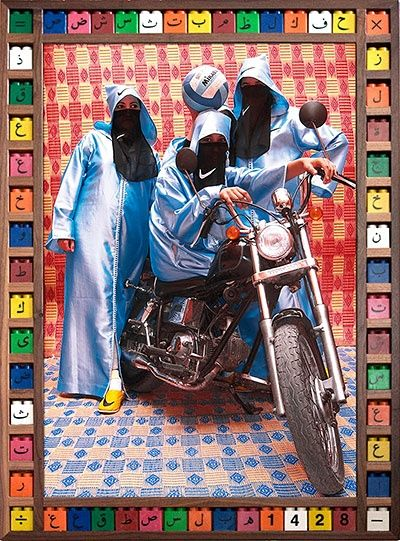 The motorbike girl gangs of Morocco – in pictures