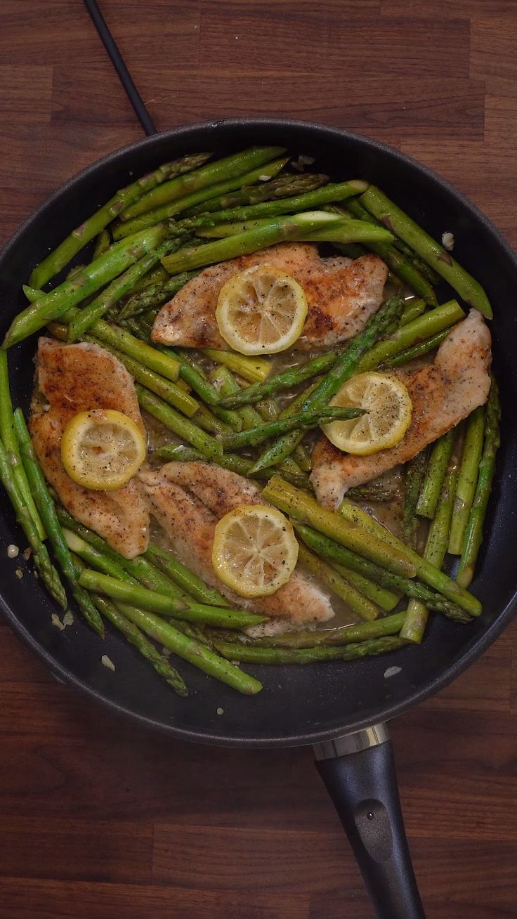 Zitronen-Spargel-Huhn   – Gesunde Rezept-Videos