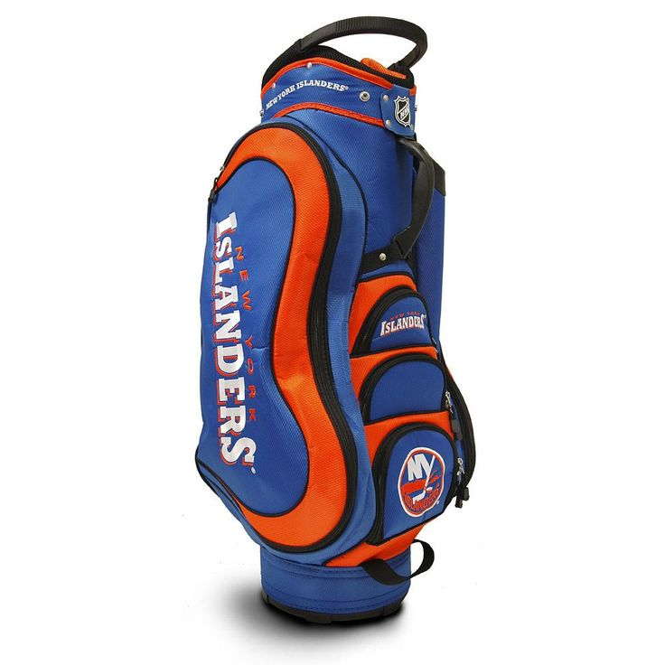 Team Golf New York Islanders Medalist Cart Bag, Multicolor