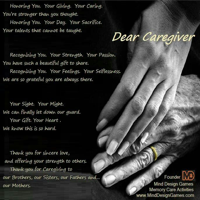 Thank You Quotes For Caregivers: Quotes About Being A Caregiver. QuotesGram