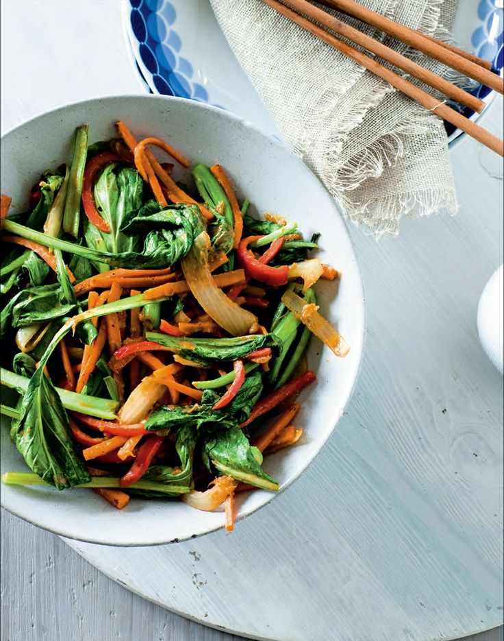 Vegetable stir-fry with miso recipe by Ian Thorpe | Cooked