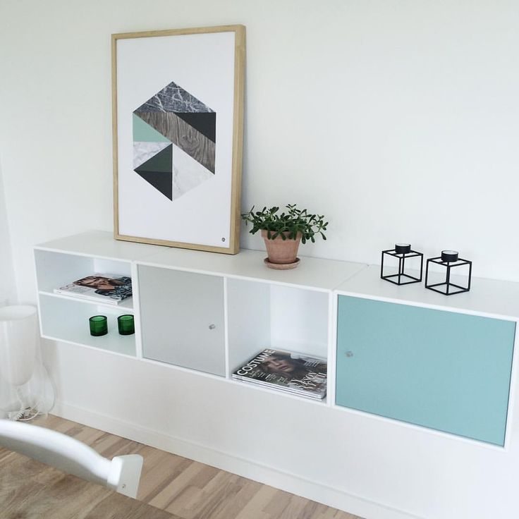 "msHay.com på Instagram: ""~ s h e l f i e ~ Love when picture frames are leaning against the wall and not hanging. Easy to style and easy to layer with different frame sizes #tipoftheday #interior #mshay #poster #norwegiandesign #norskdesign #montanafurniture #danishdesign #mint #mintybreeze ( @akjuus)"""