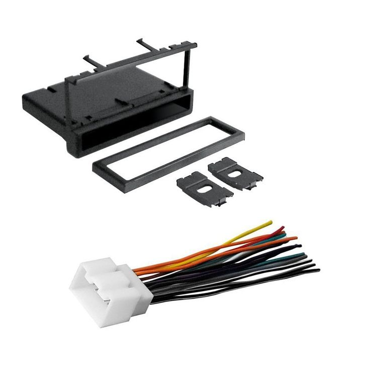 CAR CD STEREO RECEIVER DASH INSTALL MOUNTING KIT WIRE HARNESS FORD LINCOLN MERCURY 1994- 2011