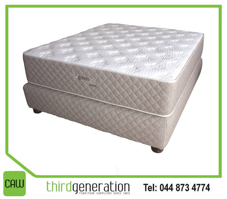 #GreenCoil Mattresses offer #luxury and #quality, to ensure your night's sleep is as comfortable as possible. Available at #ThirdGenerationCAW.
