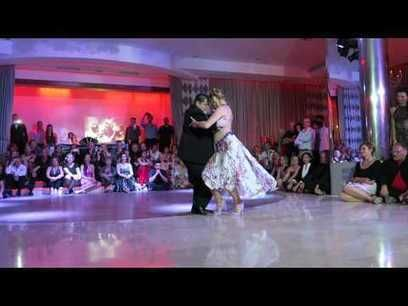 Alejandra Mantiñan y Aoniken Quiroga Canary Islands 2015 Tango Festival