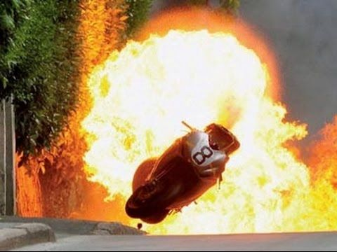 Isle of Man TT Guy Martin Crash 2010 ⚡️