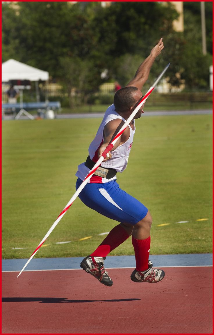 Javelin Throw At Ansin Sports Complex Miramar Florida