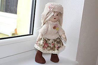 Hračky - textilná bábika - 7524585_