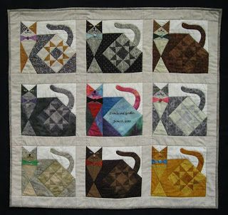 Ann Quilts: The Cats Go To A Wedding