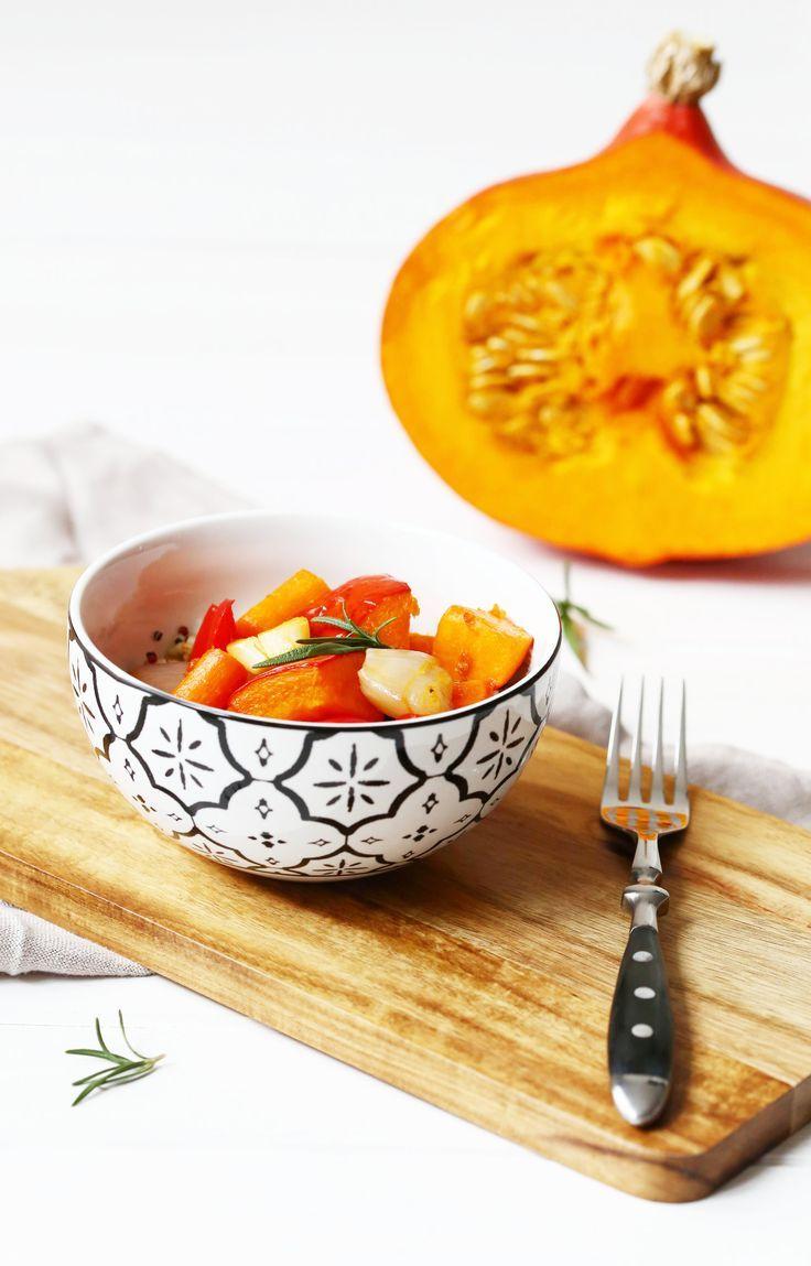 Soulfood für den Herbst: Quinoa mit Ofengemüse. Schnell zubereitet und unheimlich lecker.