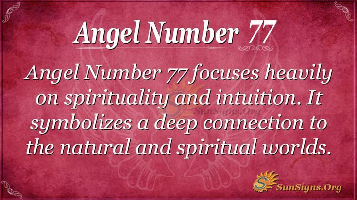 Angel Number 77 Meaning Find It S Impact On Your Life Angel
