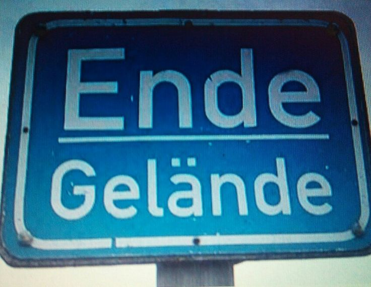 Ende Gelände
