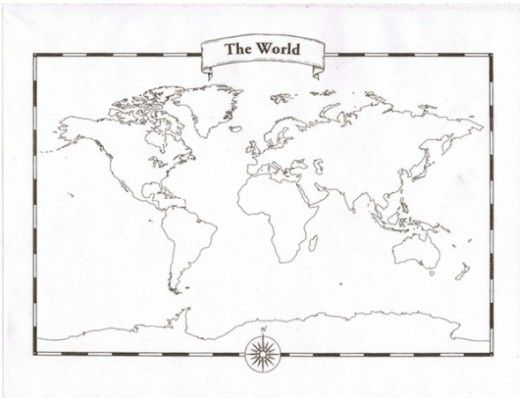 80 best decorating map images on pinterest mapas del mundo mapas looking for a blank world map free printable world maps to use in class gumiabroncs Choice Image