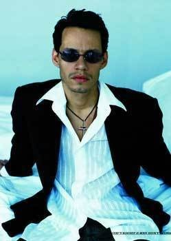 Marc Anthony...Puerto Rican Salsa Singer.