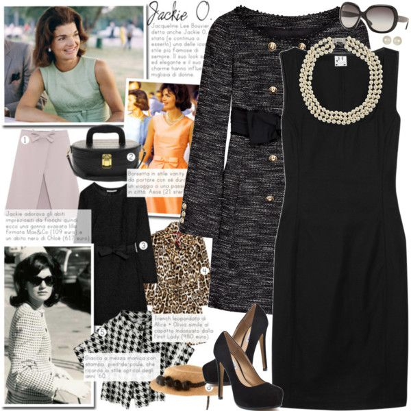 JACKIE OH, created by ahdorable  My fave. I LOVE Jackie O style!! Oldie but classy!