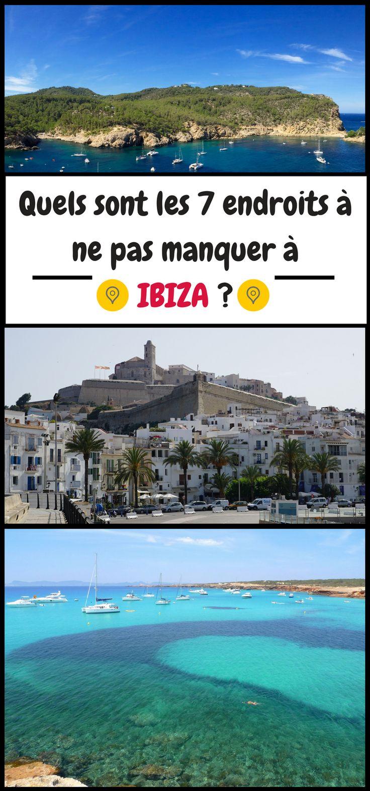 Vous partez en vacances à Ibiza ? Que voir sur cette célèbre île des Baléares, située à l'est de l'Espagne ? Voici notre TOP 7 des meilleurs lieux de l'île à visiter.