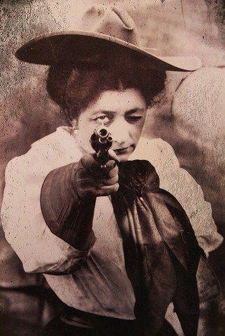 Pawnee Bill's May Lillie - Buffalo Bill's wife