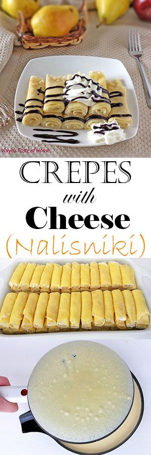 This Crepes with Cheese recipe are so soft that they melt in your mouth. The vanilla in this crepes recipe gives them a wonderful vanilla flavor and aroma.