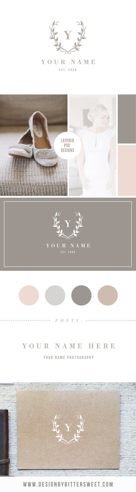 Available in a range of different colour designs instant downloadable - Photographer Logo Design Digital Logo Watermark Instant Download Customize This Listing With
