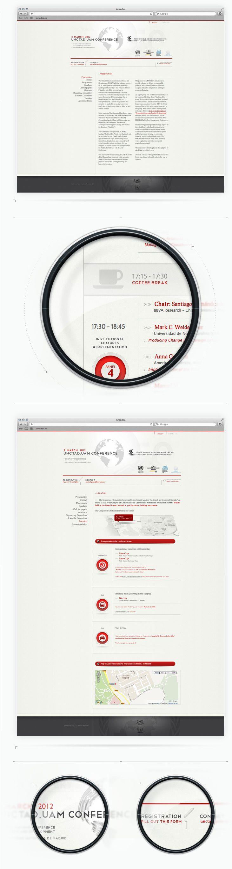 Diseño Web de UNCTAD Conference www.amedea.es