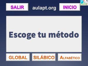 MÉTODO DE LECTURA INTERACTIVO . FONEMA P - AULA PT
