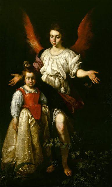 Ο φύλακας Άγγελος (1628-32) Μουσείο Καλών Τεχνών Χιούστον των Η.Π.Α.