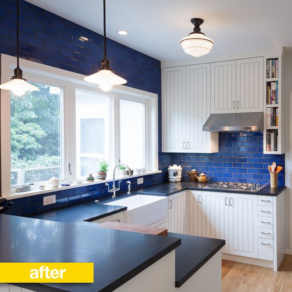 Blue Grey Yellow Kitchen: 75 Best Gray, Yellow & Navy Kitchen/Dining Room Images On