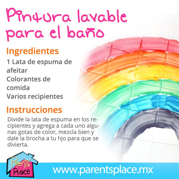 Pintura para la hora del baño - Parents' Place