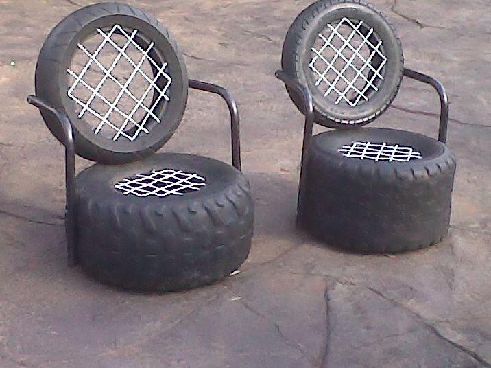 Tire chair                                                                                                                                                                                 Mais