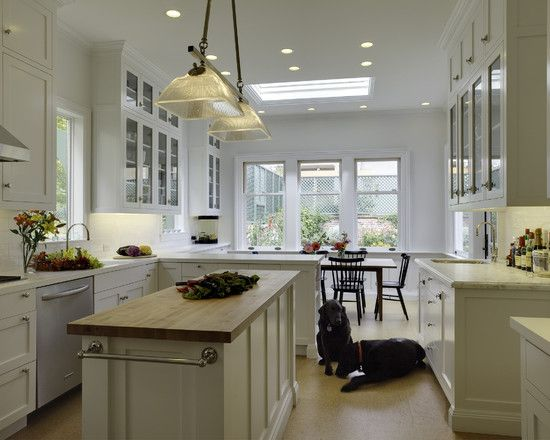 Kitchen Galley Kitchen With Peninsula Design, Pictures