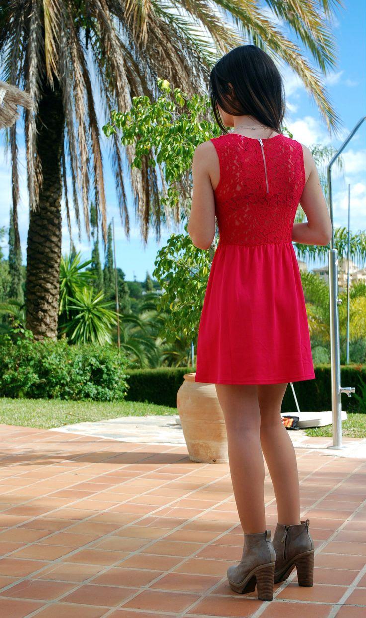 Pink dress from H Vestido rosa de H